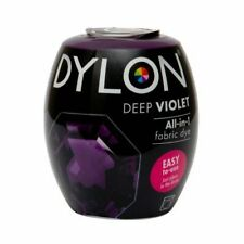 DYLON FABRIC DYE in Intense Violet for Brilliant & Permanent Results 200g 2452