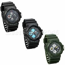 Fashion Mens Watches Digital Date Alarm Sports Army Electronic Wrist Watch