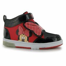 NEW Minnie Mouse Shoes Autumn Winter Sneakers trainers Size 20-34 Girls Boots