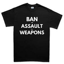 Ban Assault Weapons AR15 AK47 Rifle Sling T shirt Tee Top T-shirt