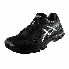 Asics Womens GT 2000 3 Premium Running Shoes Gym Trainers Black AUTHENTIC