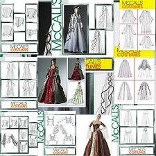 OOP McCall's Historical Renaissance Medieval Costume Miss McCalls Sewing Pattern