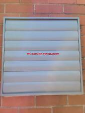 Back Draught/Louvre Shutter - Grille Fan Ducting Extraction Vent Kitchen Canopy