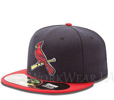 ST LOUIS CARDINALS 5950 Alternate 2 Cap MLB Fitted Baseball Hat On Field New Era