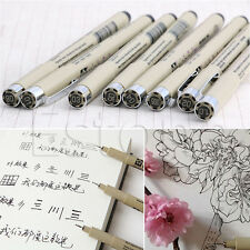 1PC New Sakura Pigma Micron Fine Line Pen 01 02 03 04 05 08 005 1.0 Art Supplies