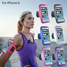 "New Sports Run Jog Gym Armband Arm Band Case Cover Holder for iPhone 6 4.7"" FG"