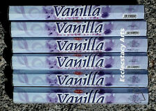 Hem Vanilla Incense Sticks 20-40-60-80-100-120 Incense  U Pick Quantity