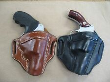 Azula Leather OWB Two Slot Pancake Belt Holster CCW For.. Choose Color & Gun - 2