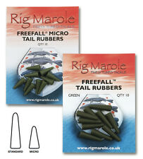 RIG MAROLE FREEFALL SOFT TAIL RUBBERS CARP FISHING TACKLE STANDARD, MICRO 10PCS