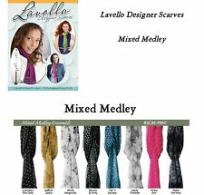 Lavello Designer Scarves - Mixed Medley Prints -  Scarf Wrap Fashion Gifts NEW