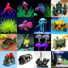 Aquarium Fish Tank Various Sea Animal Underwater Landscaping Ornament Decoration
