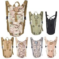 Outdoor 3L Hydration System Backpack Pack Military Molle Water Bag Bladder Pouch