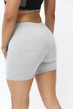 Basic Training shorts, heather grey - CUTE workout yoga GYM sport FITNESS COTTON
