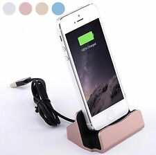 Desktop Charger STAND DOCK STATION Sync Charge Cradle for Apple iPhone 6s 6 5s