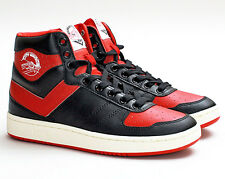 New PONY City Wings Hi Mens High Top Sneakers Basketball Shoes Red Black