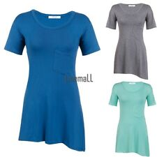 New Women Fashion Short Sleeve O-Neck T-Shirt Casual Loose Casual Blouse LM