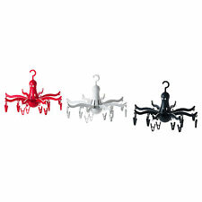 IKEA hanging dryer w 16 clips laundry clothes hanger Octopus foldable PRESSA
