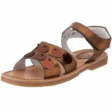 Kid Express by A.N.T. Originals Mathilda Bronze Metallic Sandals size 6 Big Girl