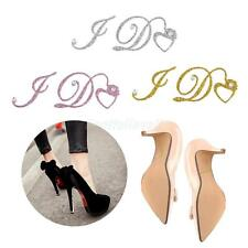 """I Do"" Crystal Rhinestone Diamante Wedding Bridal Shoe Stickers Decals Decor"