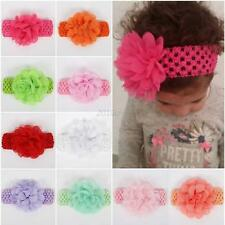 Cute Infant Baby Girls Flower Bow Headband Hair Band Kids Hair Accessories Lots