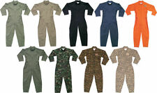 Military Camo Air Force Style Army Flight Suit Coveralls
