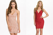 Ladies Sexy Lace Party Cocktail Dress Sexy Bodycon Dresses Size 8 10 12