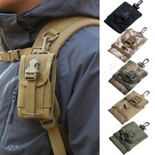 Travel Kit Universal Army Tactical Bag For Mobile Phone Hook Cover Pouch Case