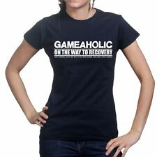 Game aholic Gamer Gaming COD Black Ops 3 Limited Ladies Womens T shirt