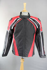 FRANK THOMAS XTI HYPERTEC BIKER JACKET WITH CE ARMOUR AND THERMAL LINING: M/XXXL