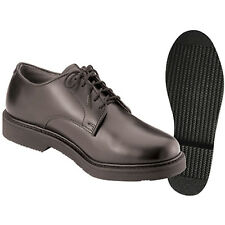 Uniform Black Oxford Band Parade School Military Cadet Soft Sole Dress Shoes