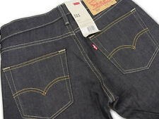 LEVIS 511-0241 Slim Fit Levis Jeans Slighty tapered leg Raw All Sizes NWT