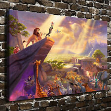 24X36inch Oil Painting HD Print on Canvas Modern Deco,The Lion King(NO Stretch)