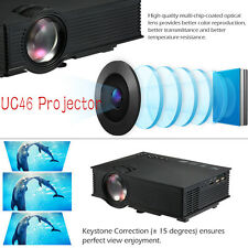 UC46 Wireless WIFI Portable mini projector Full HD Multimedia Video Home Cinema