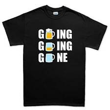 Going Beer Drinking - Funny Mens T shirt Gift Tee Top T-shirt