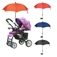 Wheelchair Pushchair Kid Baby Stroller Umbrella Parasol UV Rain Sun Shade Canopy