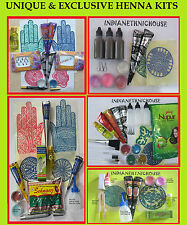 Henna kits for Beginner & Professionals for Body Art Temporary Tattoo Free Shipp