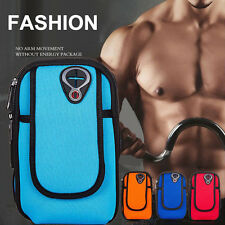 Outdoor Cycling Sports Running Cell Phone Arm Band bag wrist Pouch Key Package