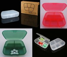 Original Pill Box ® 5 Compartment Capsules Tablets Organiser & Buy 3 get 1 free!