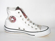 CONVERSE CT HI White Canvas Trainers 548645C