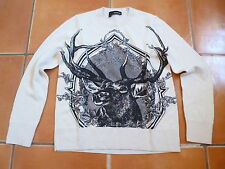 BNWOT THE KOOPLES STONE STAG JUMPER, SIZE 1, 8-10.