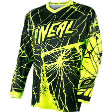 2017 O'Neal Enigma Hi-Viz Motocross Dirtbike MTB BMX Off-Road Riding Gear Jersey