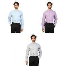 Brooks Brothers Mens Slim Fit English Collar Shirt