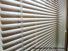 """1"""" Premium Aluminum Mini Blinds 26-28"""" Wide by 57-59"""" Long $32.17 FREE SHIPPING"""