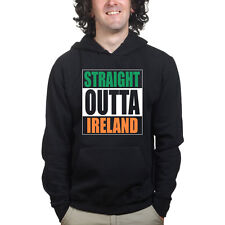 Straight Outta Ireland Funny Irish Compton Sweatshirt Hoodie Shirt