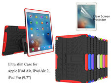"""Screen Protector/Shockproof Heavy Duty Case For iPad Air /Air 2, iPad Pro 9.7"""""""