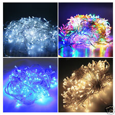 50/100/200/300/400/500 LED String Fairy Lights White Warm White Blue Mix-Color