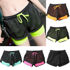 New Fashion Women Girls Summer Pants Women Sports Shorts Gym Yoga Shorts FG