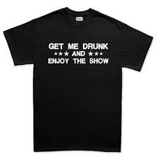 Get Me Drunk Funny Drinking Party T shirt Tee Top T-shirt