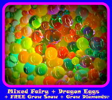 Fairy & Dragon Eggs ORBEEZ Large BULK mix FREE Snow, Fun Creative Over 105g