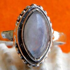 925 Sterling Silver Rainbow Moonstone Ring,Moonstone Ring,Jewelry Moonstone Ring